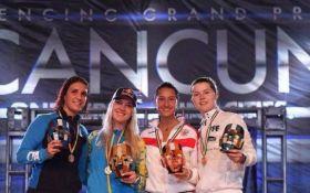 Українська шаблістка Ольга Харлан виграла етап Кубка світу: відео фінального бою