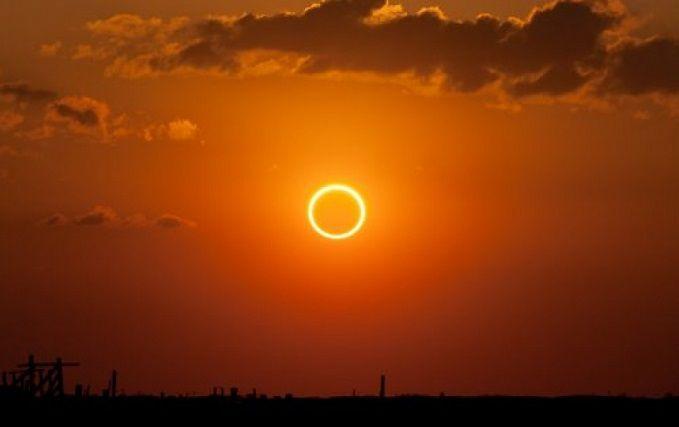 Сонячне затемнення 2017: опубліковане відео