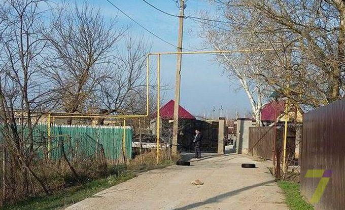 Убийство под Одессой: появились фото с места событий (1)