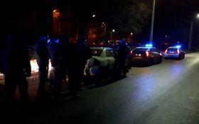 У Києві п'яний водій влаштував перегони з поліцією на величезній швидкості: опубліковані фото