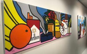 «Шик-модерн»: в Киеве открылась выставка работ молодой украинской художницы