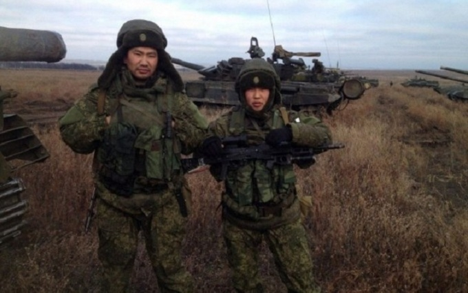 Разведка назвала фамилию очередного бурята на Донбассе