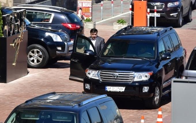Викрадення дорогого позашляховика Саакашвілі: з'явилися нові подробиці
