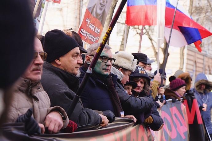 В Москве прямо высказались за Россию без Путина: появились фото и видео (3)