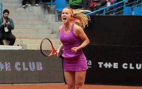 Лучшая теннисистка Украины успешно стартовала на супертурнире в Италии