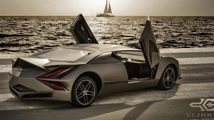 В Катаре сделали 525-сильный суперкар (4 фото) (3)