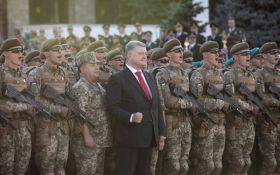 Порошенко підвищив зарплату українським військовим і поліцейським
