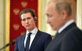 До Путіна їде канцлер Австрії: обговорюватимуть Україну