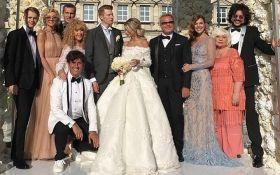 В Росії одружився онук Алли Пугачової: з'явилися перші фото зоряного весілля