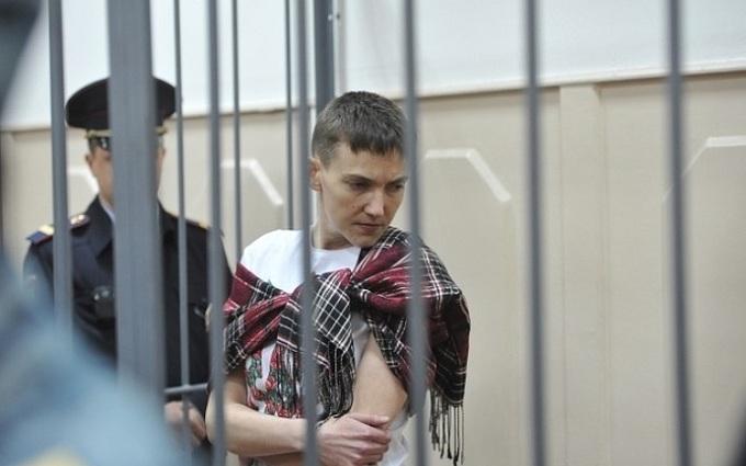 Появилось видео песни Савченко в российском суде