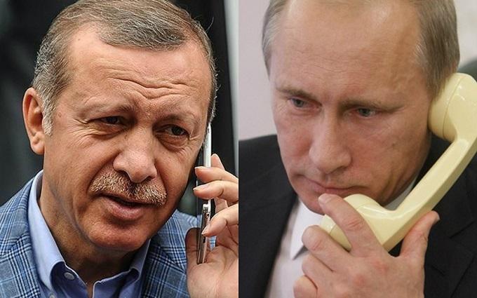 Путін поговорив з Ердоганом і поділився враженням