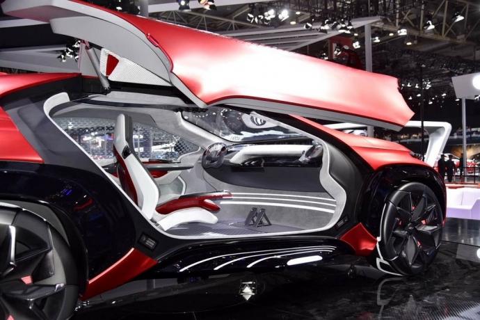 Китайцы показали автомобиль будущего: опубликовано фото (1)