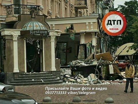 У центрі Києва розгромили ресторан: з'явилося фото (1)