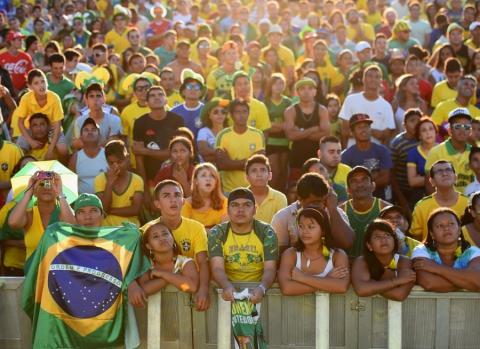 Кадры с ЧМ по футболу в Бразилии