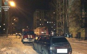 В сумской многоэтажке прогремел взрыв: появились фото с места инцидента