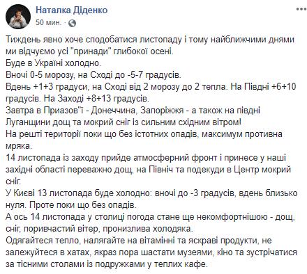 Когда в Киеве выпадет первый снег: синоптики назвали дату (1)