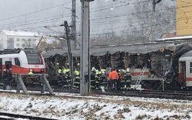 В Австрії зіткнулися потяги, є жертви
