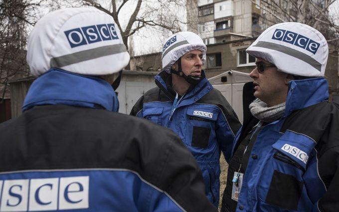 ОБСЕ зафиксировала у оккупированного Луганска новое тяжелое вооружение боевиков
