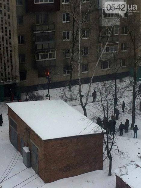 Взрыв квартиры в Сумах: появились фото и видео (6)