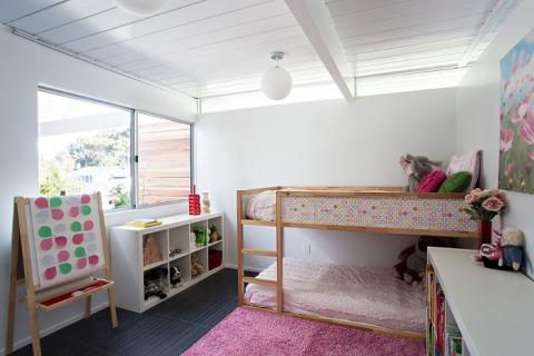 Круті ідеї, який допоможуть з оформленням дитячої спальні в стилі Mid-centry modern (17 фото) (6)