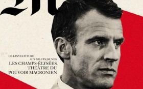 Макрон в образе Гитлера: известное издание попало в громкий скандал со странным фото президента Франции