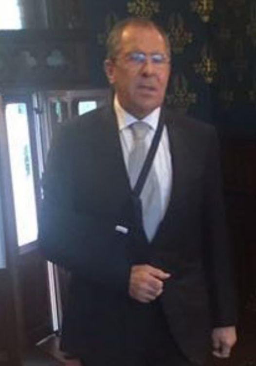 Міністр Путіна отримав травму, граючи в футбол: опубліковані фото (1)
