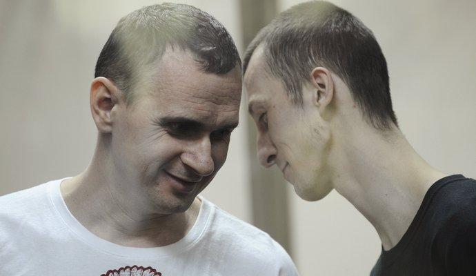 В Париже покажут фильм о суде над Сенцовым и Кольченко