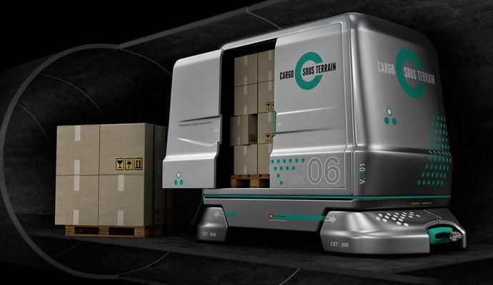 Скоро появится первая в мире подземная автоматическая грузовая транспортная система