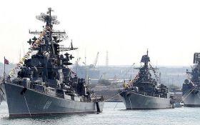 Россия направила к берегам Сирии мощнейшую группировку боевых кораблей