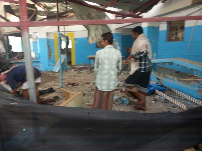 По лікарні в Ємені завдано авіаудару, є жертви: з'явилися відео та фото (1)