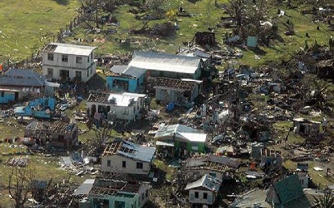 На островах Фиджи прошел мощный ураган: есть жертвы
