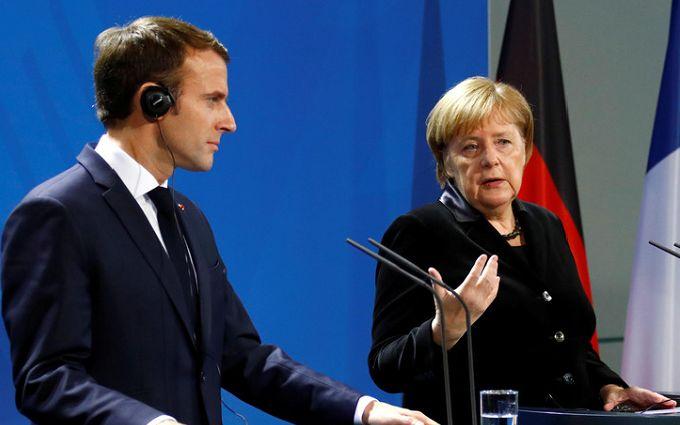 Не забули про Україну: Меркель та Макрон звернулися до Путіна з жорсткою вимогою