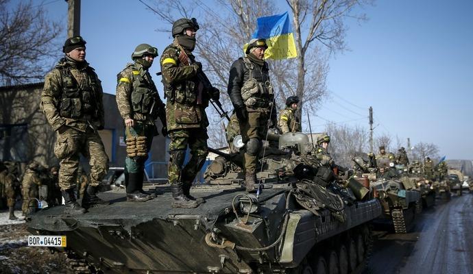 Українські військові знову потрапили під обстріл в АТО
