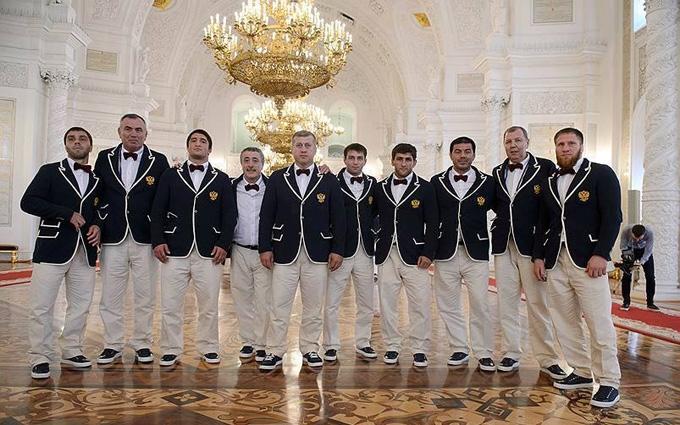 """Смішна форма російських олімпійців: знайдений """"український слід"""""""