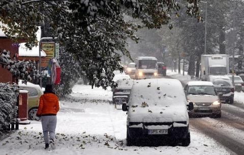 Через сильний снігопад у Польщі загинули двоє осіб (6 фото) (4)