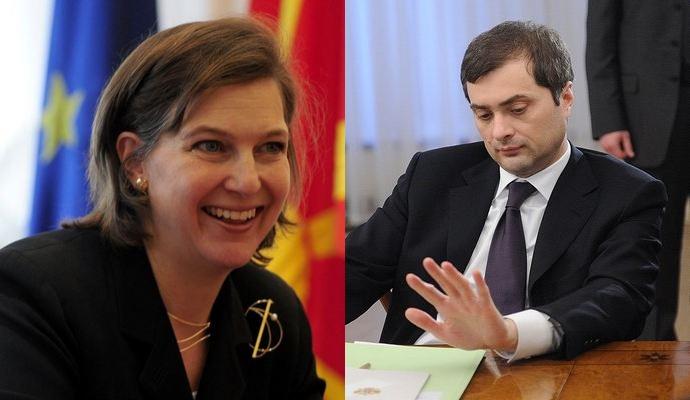Сурков і Нуланд обговорювали Україну впродовж 6 годин