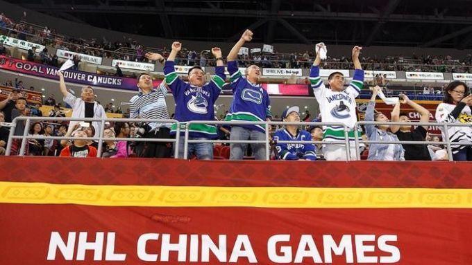 НХЛ осталась довольна играми в Китае
