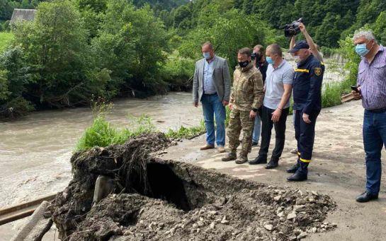 Наводнение в Закарпатье - стали известны шокирующие потери от разрушений