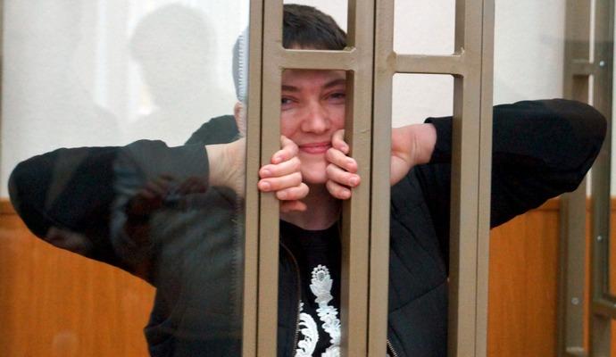 На суді заборонили фотографувати Савченко