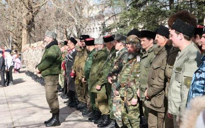 В Крыму отмечают День защитника Отечества, детей учат собирать автоматы: опубликованы фото
