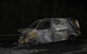 Під Мелітополем на машину інкасаторів напали зі стріляниною: опубліковані фото