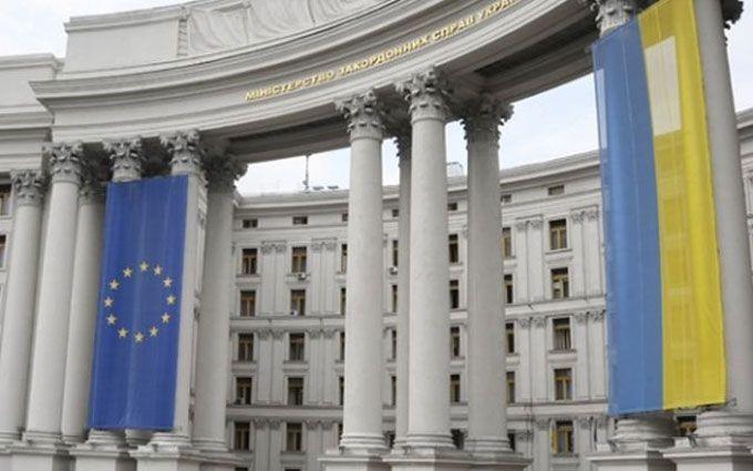 ВМИД Украины прокомментировали инцидент с нетрезвым дипломатомРФ вКиеве