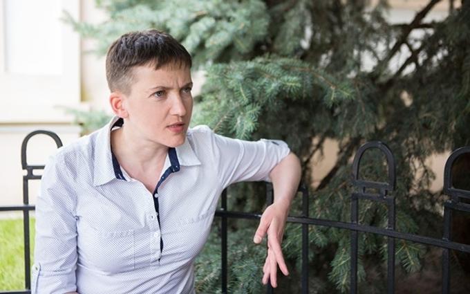 Соцмережі розвеселило фото Савченко в кашкеті