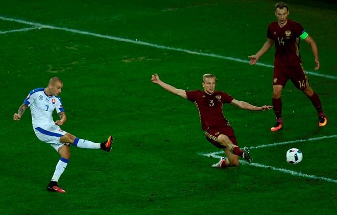 Росія - Словаччина - 0-2: дивитися онлайн відео голів матчу Євро-2016