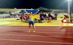 Украинская легкоатлетка рекордно победила на юношеском чемпионате Европы