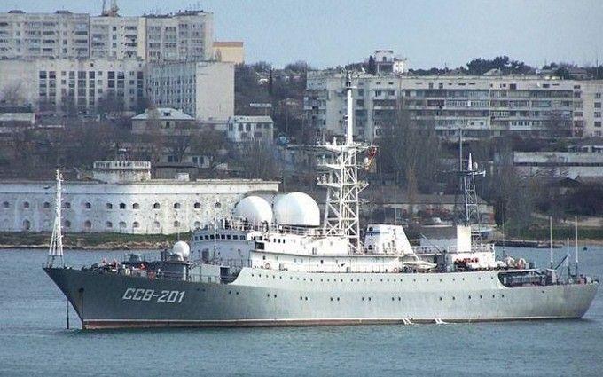 Бойові кораблі Росії помітили під Одесою