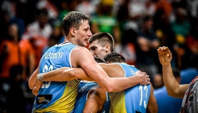 Сборная Украины поднялась в топ-20 рейтинга ФИБА