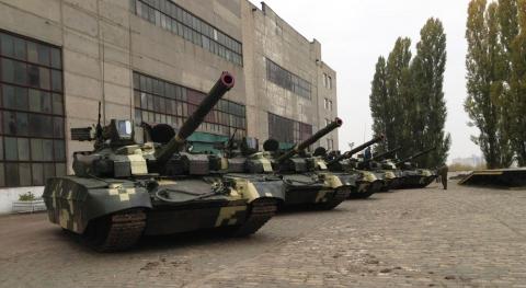 """Наступного року ВСУ будуть озброювати """"Оплотами"""""""