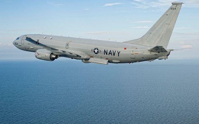 Росіяни побачили біля Криму американський військовий літак
