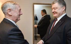 Порошенко обсудил с главой Пентагона ввод миротворцев на Донбасс